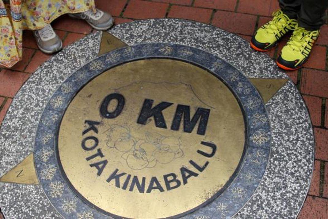 Travel - Tugu 0 Kilometer Kota Kinabalu