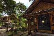 FOTO 360 DERAJAT: Rumah Bambu Jatnika