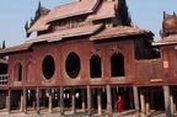 """Biara di Myanmar Jadi """"Homestay"""" untuk Turis"""