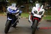 Adu Kenyamanan Yamaha R25 dan Honda CBR250R