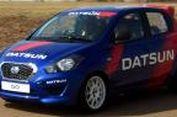Galaknya Datsun Go Rally di Sirkuit Balap