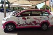 Tren Hello Kitty Menjamur di Mobil Keluarga