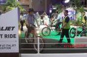 Yuk, Cicipi Sepeda Listrik Bologna di IIMS 2015