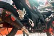 Knalpot 'Aftermarket' Honda Sonic Dongkrak Tenaga