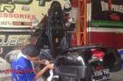 """""""Salon"""" Khusus untuk Perawatan Sepeda Motor"""