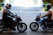 'Geber' Honda Sonic vs Suzuki Satria