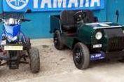 'Jeep' dan ATV Jelmaan Yamaha V-ixion