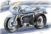 Imajenasi BMW R nineT 'Café Racer' dari Belanda