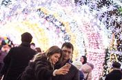 Suasana Natal di Rusia Penuh Lampu Hias, Sangat Indah!