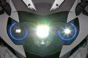 BMW Kenalkan Lampu Laser untuk Motor