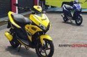 "Inspirasi Modifikasi 'Berbahan"" Yamaha Aerox 125LC"