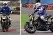 Naik Yamaha Xabre Terasa 'Pede' Mirip Supermoto