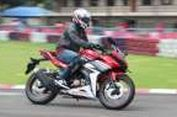 "Besut ""All New"" Honda CBR150R di Sentul"
