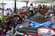 Ribuan Pemodifikasi Adu Kreatif 'Racik' Motor Honda