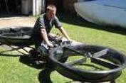 Konsep Sepeda Motor Terbang Siap Produksi