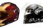 """Tren Desain Helm """"Super Hero"""""""