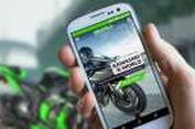 Aplikasi Ponsel Pintar Buat 'Biker' Kawasaki