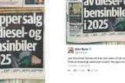 Norwegia akan Larang Jual Mobil Berteknologi Konvensional