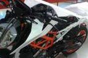 Secuil Bocoran Tampang Baru KTM Duke 390