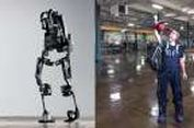 "Pekerja Pabrik BMW Kenakan Baju ""Iron Man"""