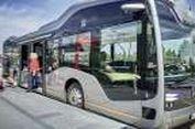 Lihat Bus Otonomos Milik Mercedes-Benz