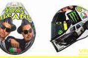 Corak Unik Helm AGV Rossi untuk Misano