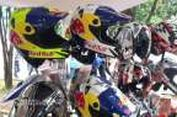 "Helm Gaya Retro dan ""Trail"" asal Tangerang"