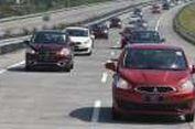 Suasana Jadi Penumpang Mitsubishi New Mirage