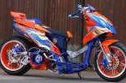 """Honda BeAT Ekstrem Bergaya """"Drag Bike"""" Eropa"""