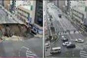 Lubang Jalan di Jepang yang Diperbaiki dalam Dua Hari Muncul Kembali
