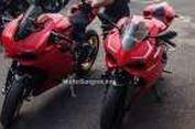 Bisa Bedakan Ducati Panigale Asli dan Aspal Ini?