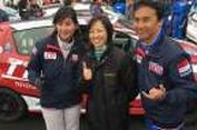 Agresivitas Pebalap Cantik Toyota Indonesia di Jepang