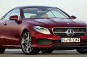 Mercedes-Benz E-Class Coupe Baru Terlihat Seksi