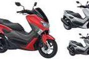 Yamaha NMAX Makin Meriah Berkelir Merah Dof