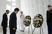Ditemani Obama, Shinzo Abe Sampaikan Duka untuk Korban Pearl Harbor