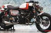 Honda Tiger Sintal Bergaya 'Cafe Racer'