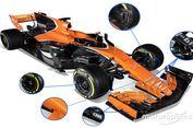Oranye Mendominasi Jet Darat McLaren Honda