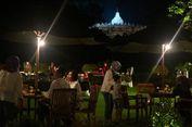Nikmatnya Santap Malam 'Barbeque' Sambil Memandang Borobudur