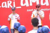 FOTO: Marquez dan Pedrosa Kampanye Keselamatan Berkendara