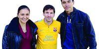 Senyum Messi di Mata Donna Agnesia