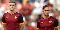 Dzeko Sebut Totti Legenda, tetapi Shevchenko Tetap Nomor Satu