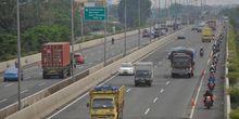 Berbahaya Bila Motor Masuk Jalan Tol