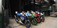 """Airbrush"", Pilihan Modifikasi GSX 150"