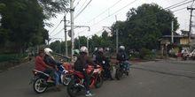 Polisi Gencar Tilang Pemotor yang Lawan Arah