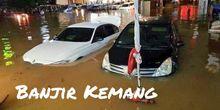 Langkah Pertama bila Mobil Terendam Banjir