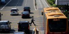 Kecelakaan di Jalur Transjakarta Makin Sering Terjadi