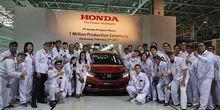 Mobilio Jadi Unit Ke-1 Juta Produksi Honda Indonesia