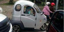 Motor Roda Tiga Listrik Dijual Tanpa Surat