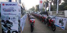 Suzuki GSX-S 150 Digeber Jakarta-Surabaya