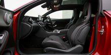 Perpaduan Mewah dan Sporty di Kabin AMG C43 Coupe